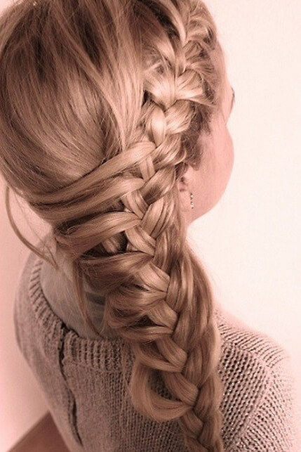Massive and long side braid