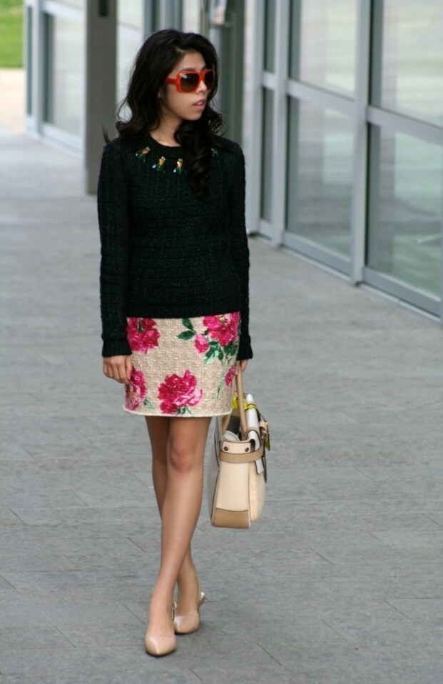 Who said florals aren't meant for the office? Think again!