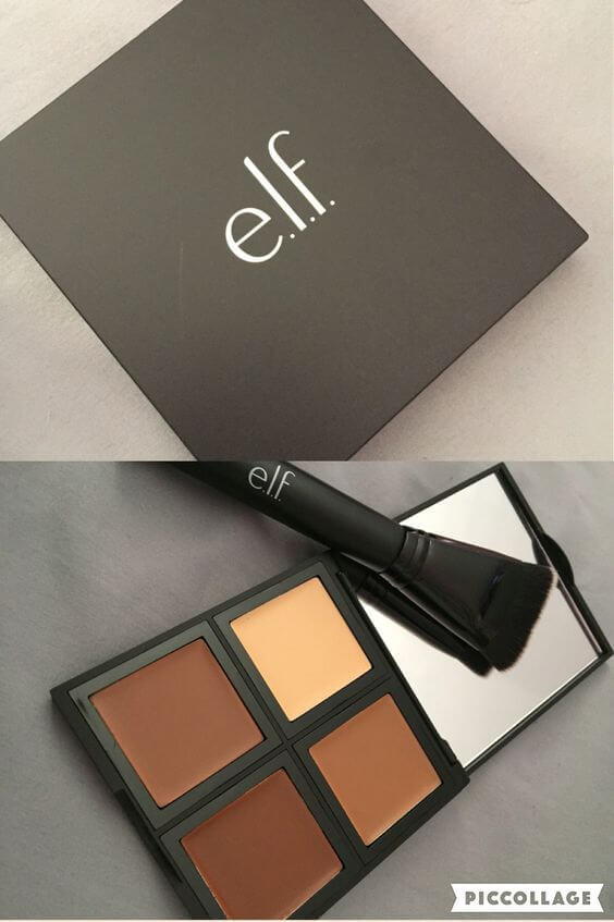 Budget beauty brand e.l.f. makes several shades of this cream contour quad