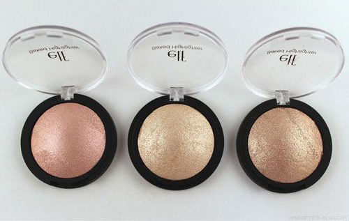 These three highlighters from e.l.f. are pigmented, shimmery, and affordable.