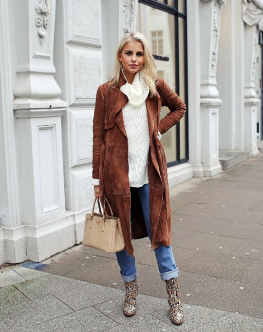 10502e2d854 50 Booties Outfits For This Fall: Autumn Looks With Ankle Boots ...