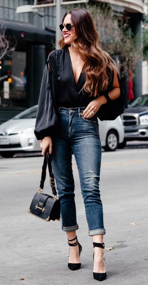 That bell sleeve blouse you splurged on last season? Guess what - it's still on trend! Make it part of your winter street style wardrobe like all the cool Instagram stars.