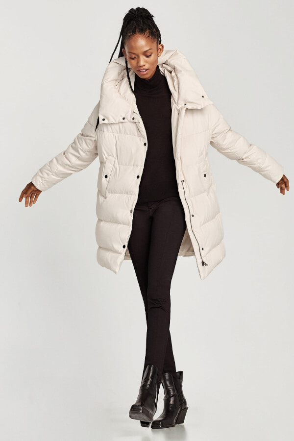 The Puffer jacket is a streetwear staple that you simply cannot go without this winter. Think fashionable Michelin man!
