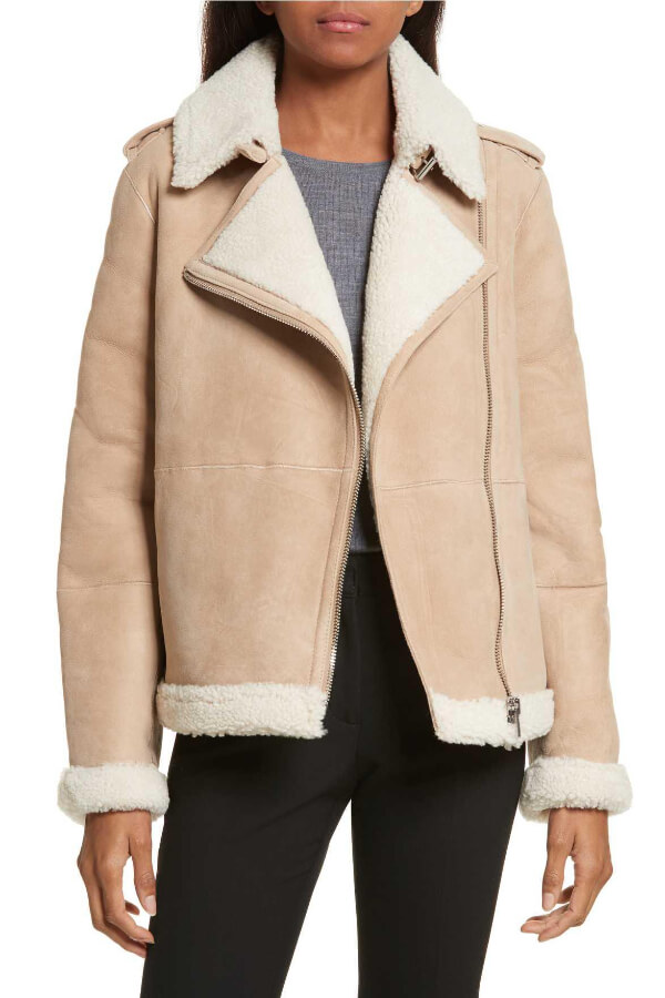This neutral and luxurious winter jacket is comfortable to wear with anything in your wardrobe