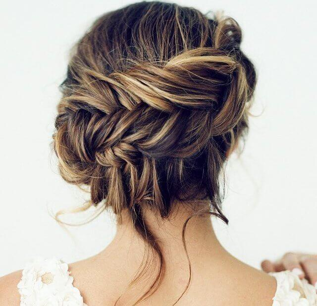Springtime calls for fine feminine styling, like this gorgeous side braid - ideal for showing off beautiful caramel highlights
