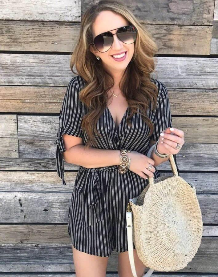 Straw bags and spring go hand in hand. They are girly and absolutely adorable and perfect for a brunch date or even when you're on vacation.