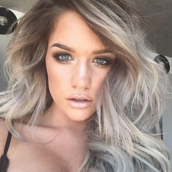 Ashy Blonde Balayage Is A Trendy Way To Go If Youu0027re Looking For A