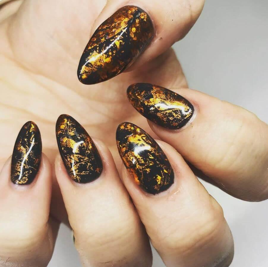 Foil nails are absolutely spectacular!