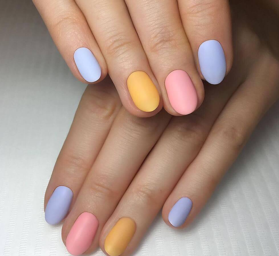 Matte pastels are a treat for sore eyes!