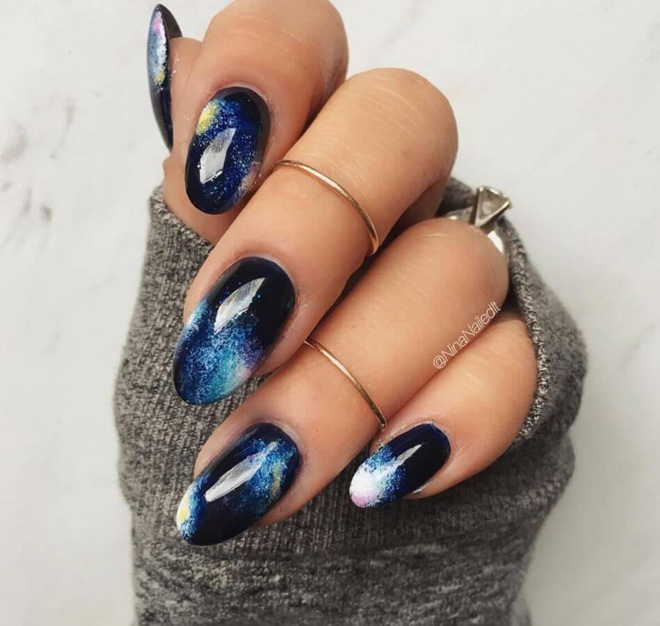Galaxy nails are EVERYTHING!