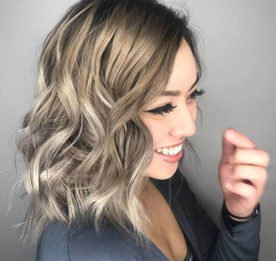 Ash blonde hair is sure to make you smile!
