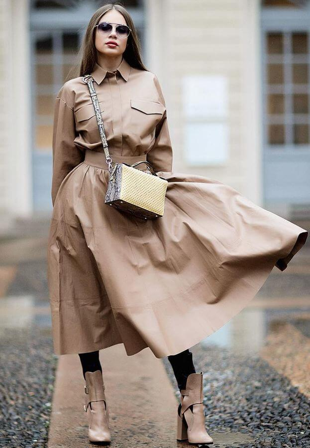 How hot is this trench dress?! Ideal for early summer.