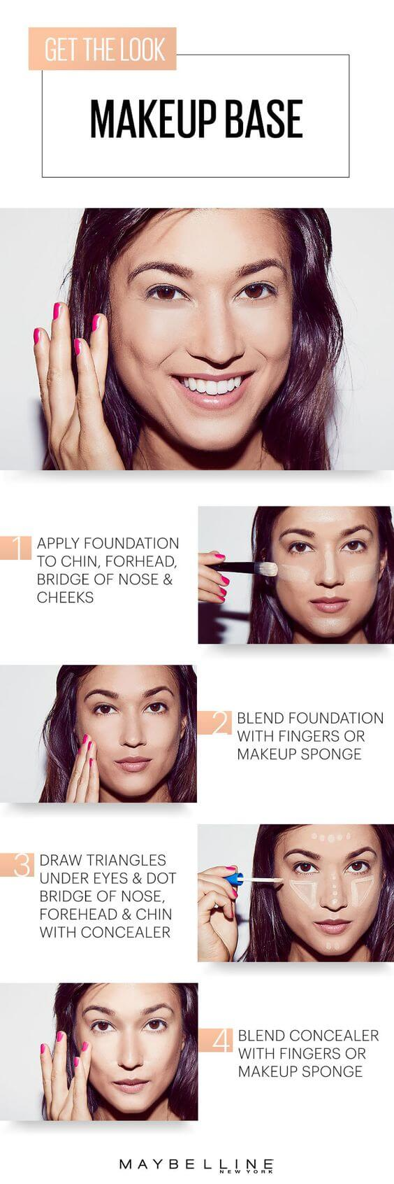 Just like a building needs a strong foundation, a good makeup look starts with a good base. Just follow this easy tutorial to achieve that flawless base!