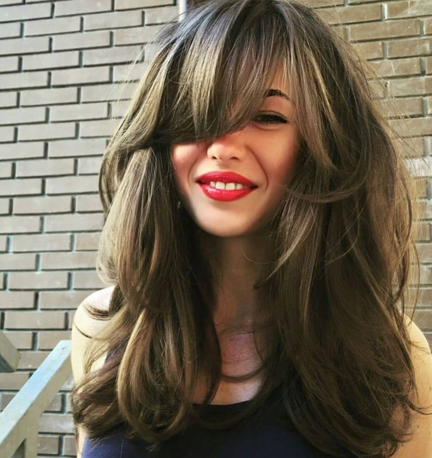 Side Bangs With Long Hair – 40 Examples For A New Haircut | BelleTag