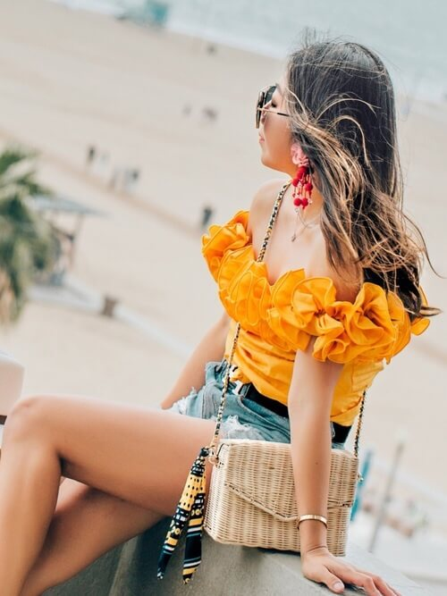 Ruffles will never go out of style, and that is why you need to wear them all summer long! #summerstyle #summerfashion