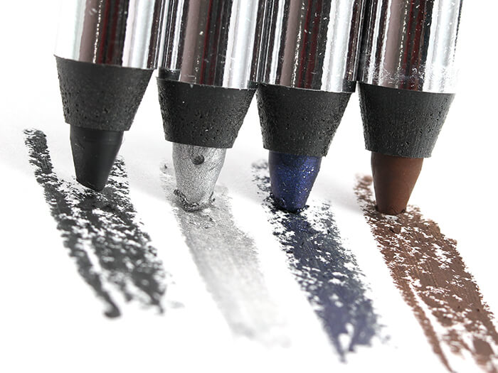 Choose from 25 different options of Sephora's creamy eyeliner pencil, including charcoal grey, shimmery silver, glittery dark blue, and matte brown.