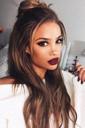 Hair Color Ideas For Women Having A Beautiful Deep Skin Tone You Ll