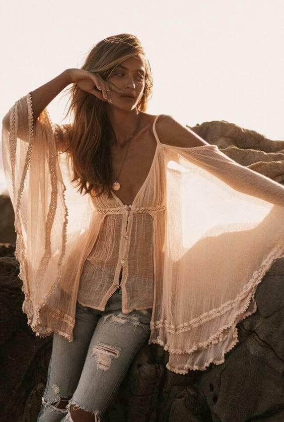 396bacad3ae36 75 Summer Outfits With Transparent Tops – BelleTag