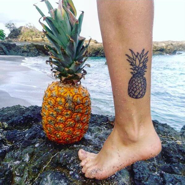 Favorite fruits turned into a tattoo #summertattoo #minitattoo