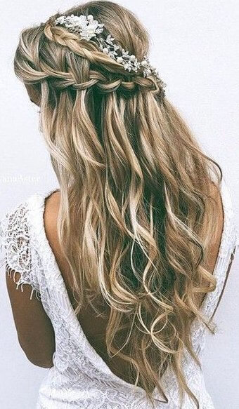 Vintage hairstyles will never go out of style. Even though they have that retro vibe, they always match perfectly with your elegant attires. #wavyhair #hairstyle