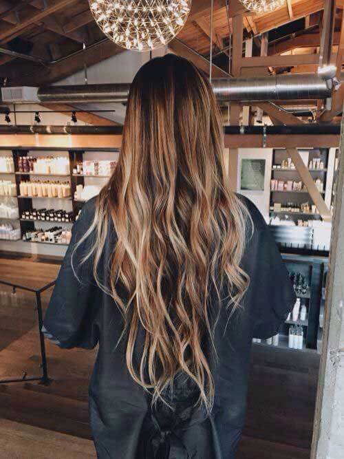 And this is how super long hair looks with waves! #wavyhair #hairstyle