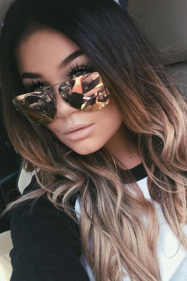 This ombre look is super sexy and trendy!