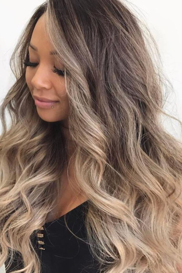 Some like it bronde and wavy!