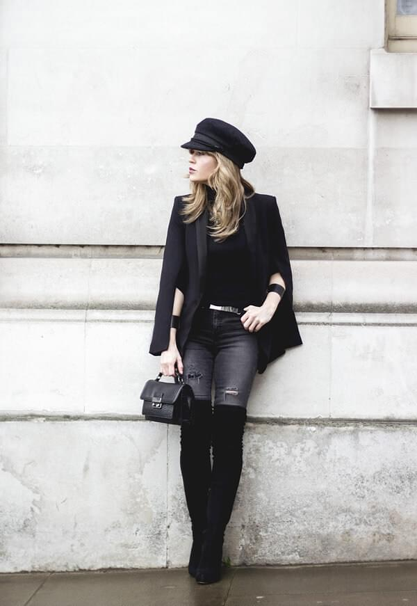 Parisian-inspired outfit
