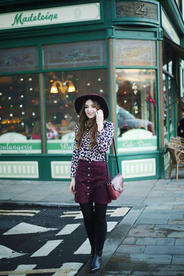 10 Winter Skirt Outfit Ideas To Copy Now Belletag