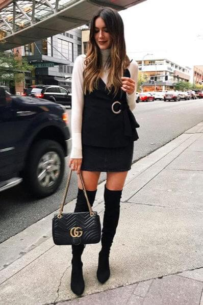 20 Best Club Outfits With Thigh High Boots Belletag
