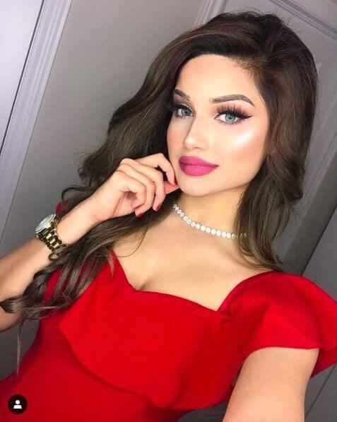 Glamorous in Red