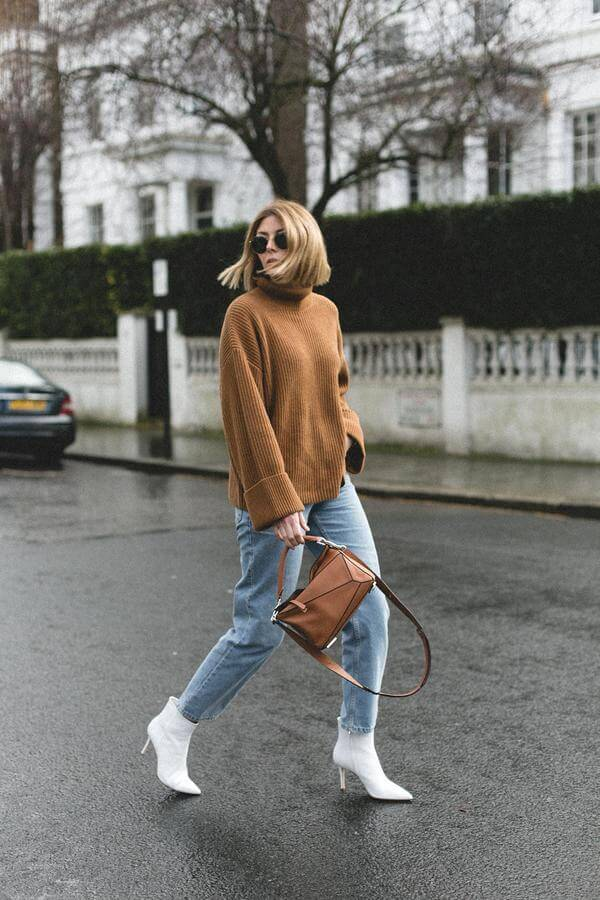 Comfy in Oversized Sweater