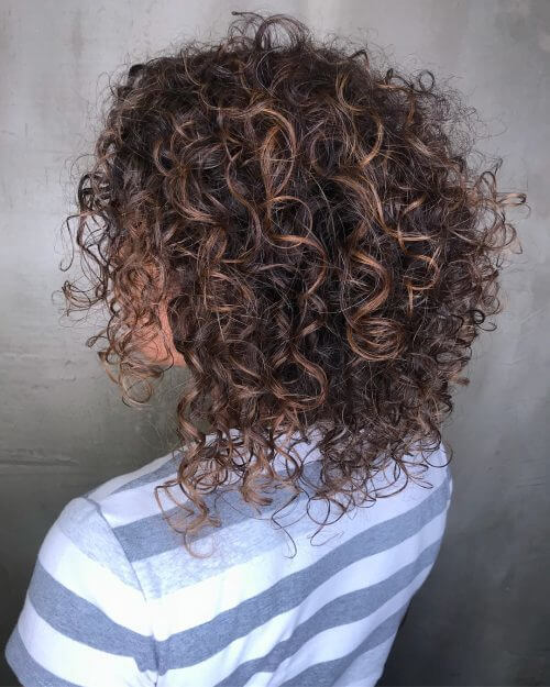 Curly Bob and Texture