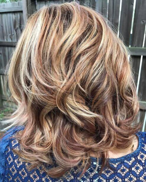 Dimension and Volume of Medium Hairstyles