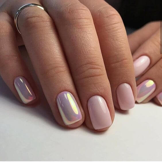 29 Simple and Lovely Pink Nails \u2013 Page 2 \u2013 BelleTag