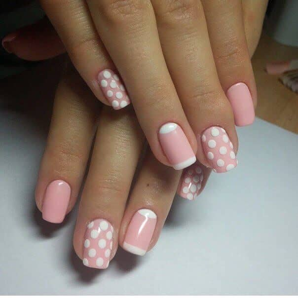 Polka Dots in Pink