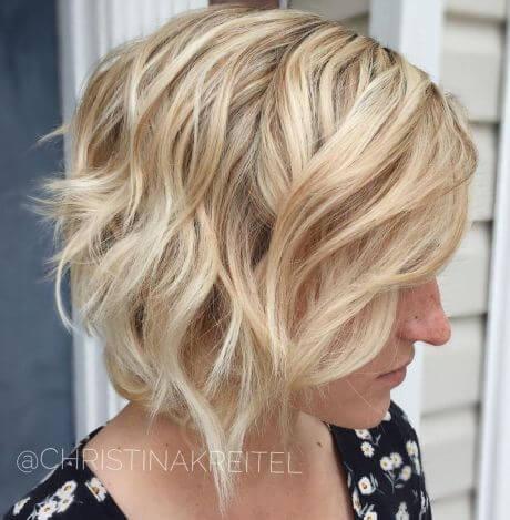 Asymmetrical Cut with Side Bangs