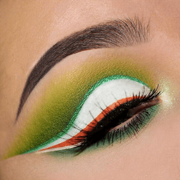 Irish-Flag Inspired