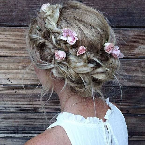Fresh Flowers in Your Hair
