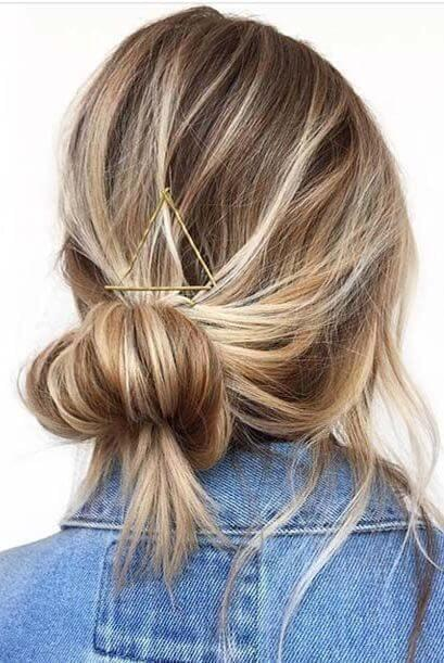 Low Highlighted Bun