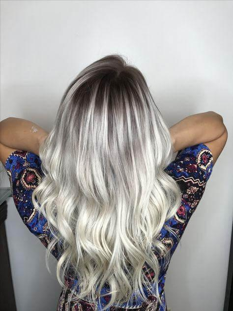 Dark Roots and Blonde Highlights