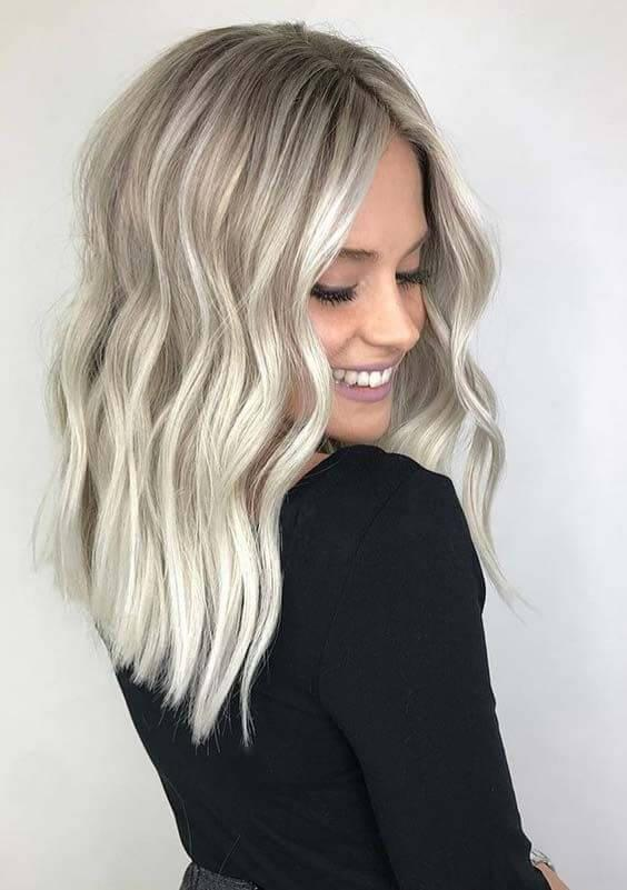 Ashy Blonde Highlights