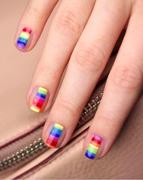 Rainbows on Your Nails