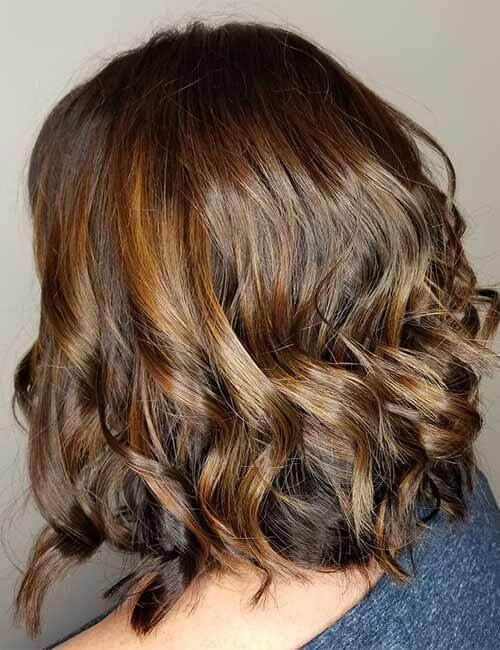 Chocolate Brown Bob