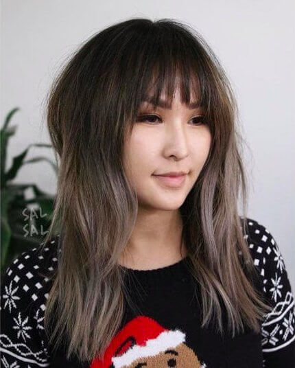Ash-Toned Haircut