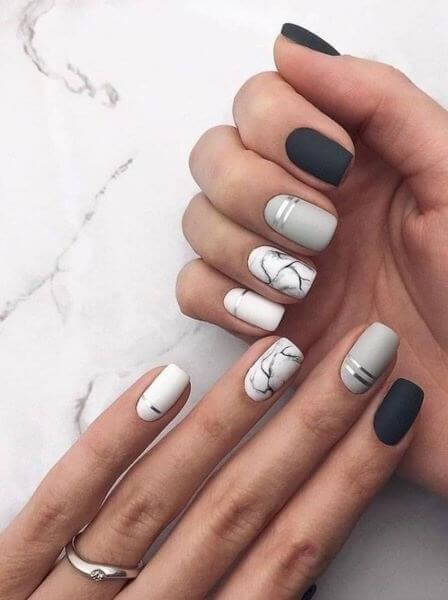 Modern Nail Art 2019 Short Nails 2019