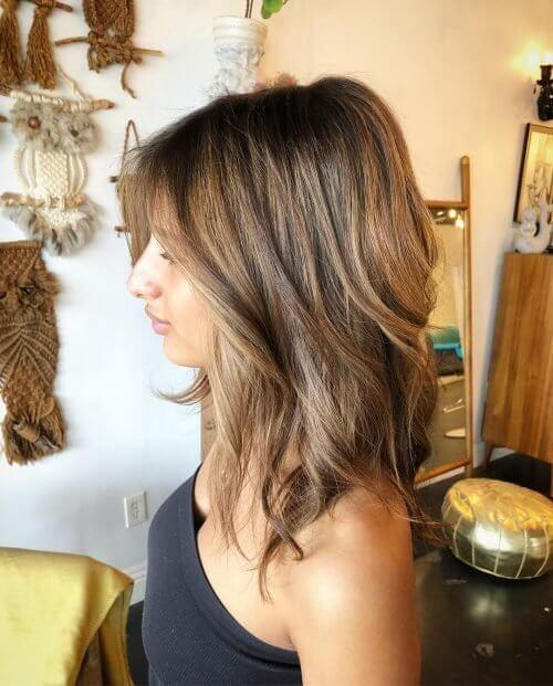 Brunette Layered Hairstyles