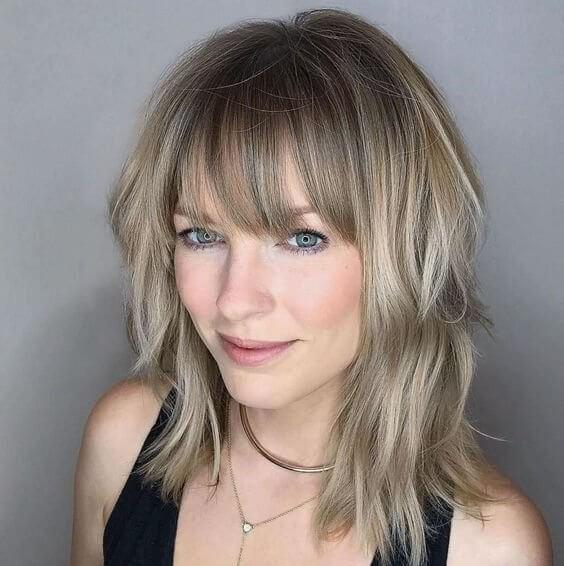 Ash Blonde Hairstyle