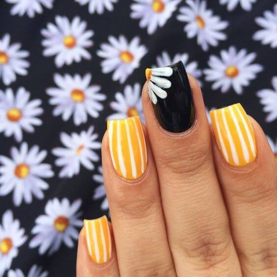 Stripes and Daisies