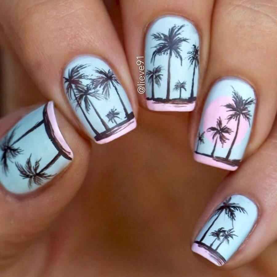 Palms on Nails
